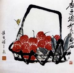 齐白石国画作品(上)0026作品欣赏
