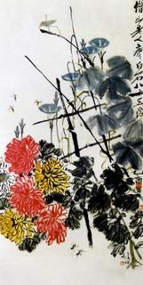 齐白石国画作品(上)0027作品欣赏