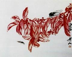 齐白石国画作品(中)0008作品欣赏