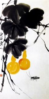 齐白石国画作品(中)0010作品欣赏