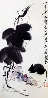 齐白石国画作品(中)0014作品欣赏