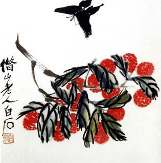齐白石国画作品(中)0017作品欣赏