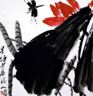 齐白石国画作品(中)0018作品欣赏