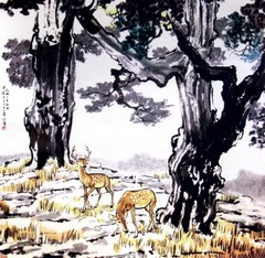 齐白石国画作品(中)0027作品欣赏